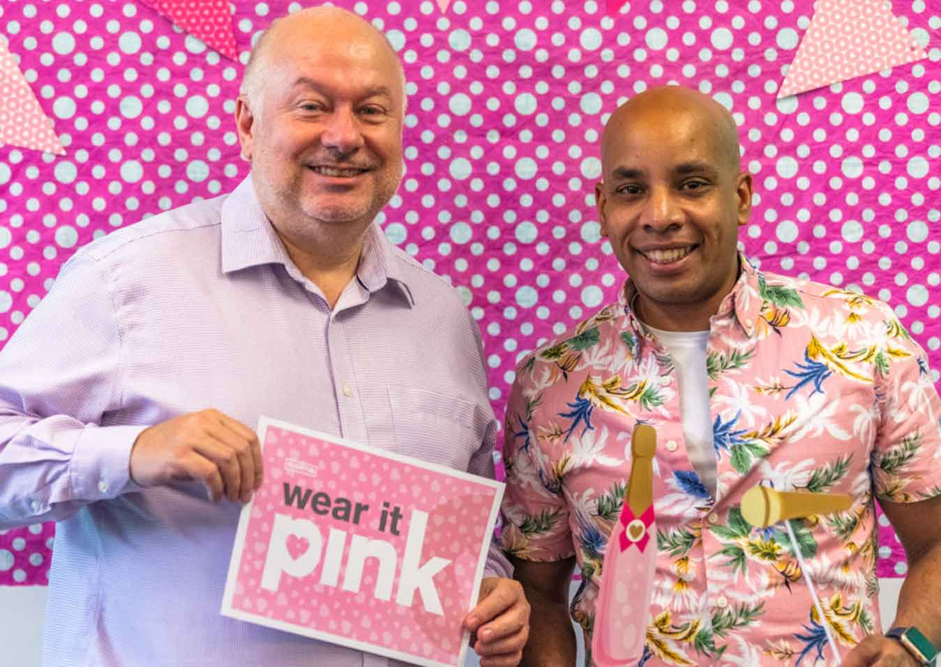 charity Wear it Pink in Leicester