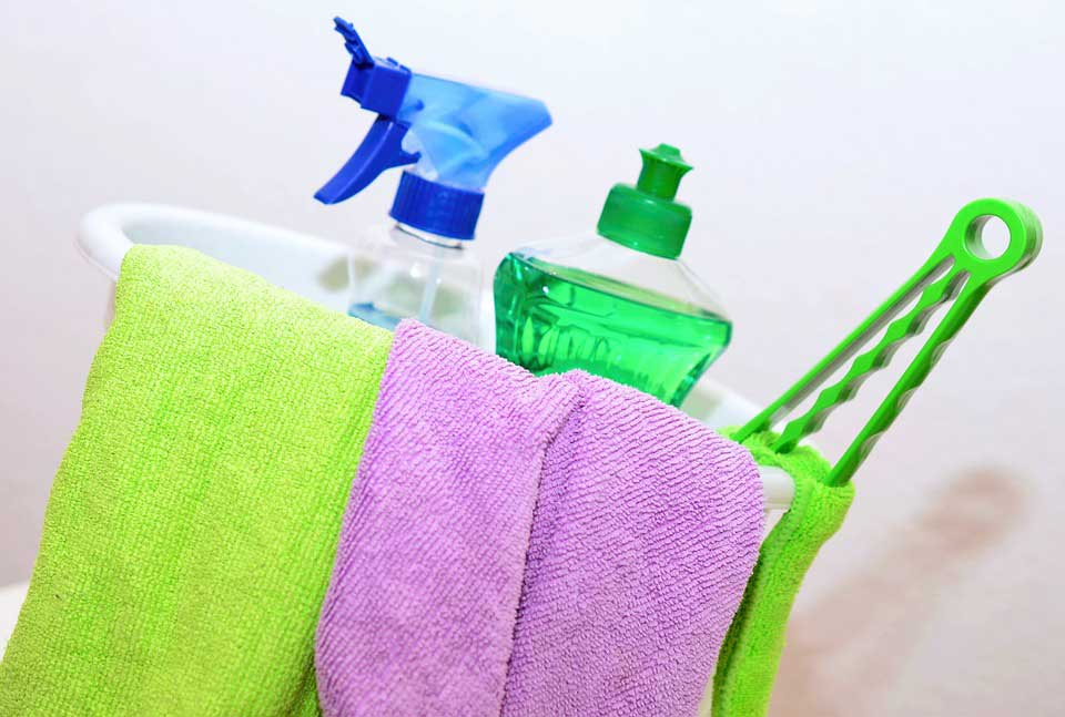 cleaning products for spring cleaning