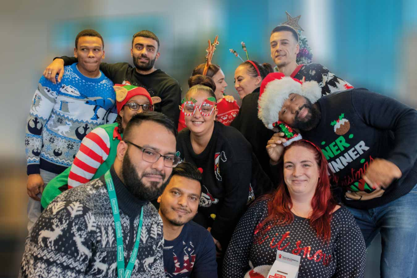 Christmas Jumper Day charity