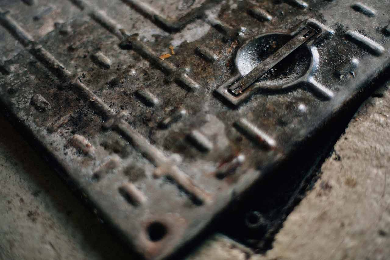 drain cover for rightio drain services in Glasgow